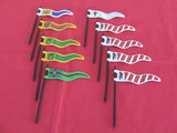 Playmobil  banderas  medievales - foto