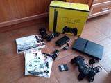 Consola Sony ps2 slim completa - foto