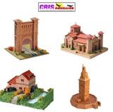 Maquetas de edificaciones en cerÁmica - foto