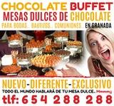 Buffet de chocolate (granada) - foto