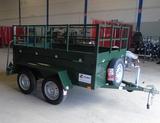 Remolque doble eje 750kg *ROYBET* - foto