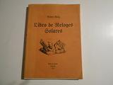 LIBRO DE LOS RELOJES SOLARES(PEDRO ROIG) - foto