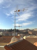 Instalar antenas terrestres - foto