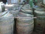 Barricas usadas whisky - foto