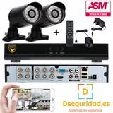 Kit completo de videovigilancia hd 2 cam - foto
