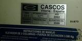 SE VENDE ELEVADOR CASCOS - foto