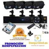 Sistema  de videovigilancia hd 4 cam - foto