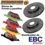 DISCOS Y PASTILLAS DE FRENO EBC - foto