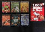 DVDs y libro de Magia e Ilusionismo - foto
