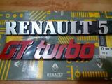 Anagramas Renault 5 gt turbo - foto