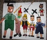 COLECCION muÑecas marionetas pinochio - foto