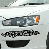 PEGATINA NEED FOR SPEED MOSTWANTED - foto