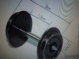 24 rueda + eje ho CC todo tipo corriente - foto
