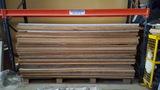 Venta de planchas de madera - foto