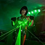 Espectaculo led show gogo laser - foto