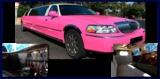 El alquiler de limusina rosa - foto