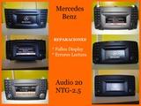Reparacion radio mercedes audio ntg-2.5 - foto