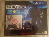 Playstation 4 slim 1tb + battlefront ii - foto