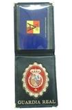 Placa de cartera guardia real y aduanas - foto