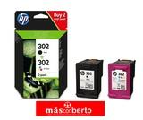 Cartucho HP 302 pack negro y color - foto