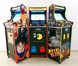 Arcade recreativa cabinas retro - foto