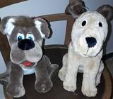 perros de peluches - foto