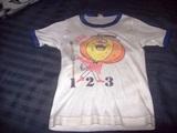 camiseta calabaza un, dos, tres - foto