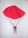Spiderman + Paracaidas - foto