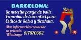 BUSCO CHICA PARA PAREJA DE BAILE(BCN) - foto