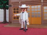 Playmobil  oeste  clark  gable - foto