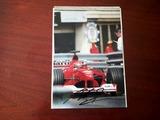 Fotografía firmada Michael Schumacher - foto