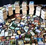 Lote de 100 cartas magic - foto