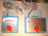 3  transformadores controladores marklin - foto