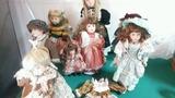 Muñecas de porcelana grandes - foto
