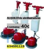 ALQUILER DE ABRILLANTADORA PULIDORA - foto