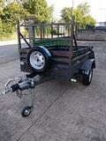 Remolque carga 2X1,30 FRENO 750 kg - foto