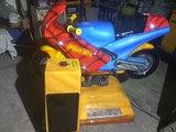Infantil Falgas Moto Spiderman - foto