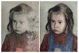 Restauración de fotografías antiguas - foto