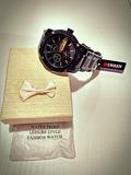 Reloj Curren® Acero Inox negro Sumerg - foto