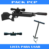 Rifle Gamo Chacal PCP + accesorios - foto