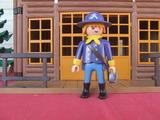 Playmobil soldado caballeria norte - foto