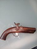 Pistola avancarga muy antigua AUTENTICA - foto