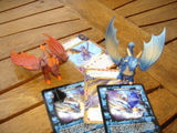 Dragones. combate de gigantes - foto