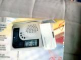 reloj.radio con proyector techo - foto