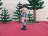 Playmobil  sargento mayor nordista - foto
