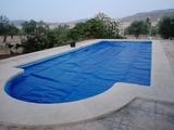 manta térmica piscina - foto