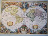 Mapa de Henr Hondio 1630 - foto