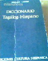 DICCIONARIO TAGALOG-ESPAÑOL - foto