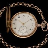 reloj saboneta omega oro de 18k VENDIDO - foto