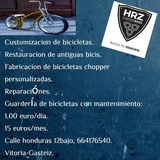 Hrz tunning bike custom - foto